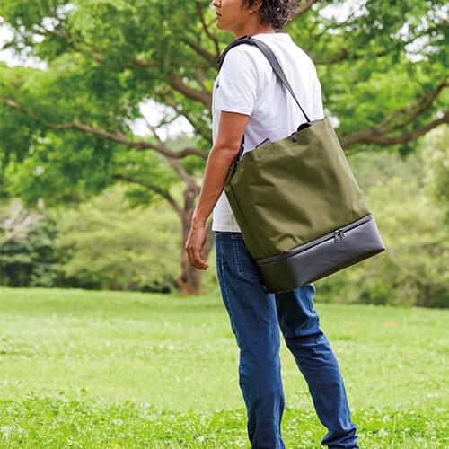 """""""KOT_SU""""という名の新鋭ブランドから つぶれにくい独立スペース付きバッグが登場"""