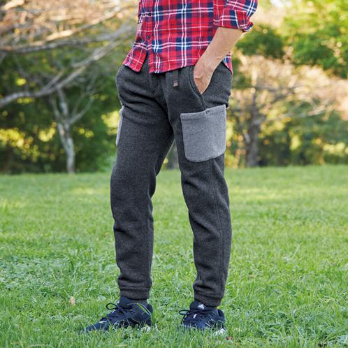 ビーパル限定でサイドポケットを付けました!ポーラテック200のあったかパンツがスゴい!