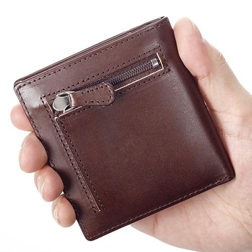 サライ・オリジナル カードをたくさん入れても薄い手のひら財布