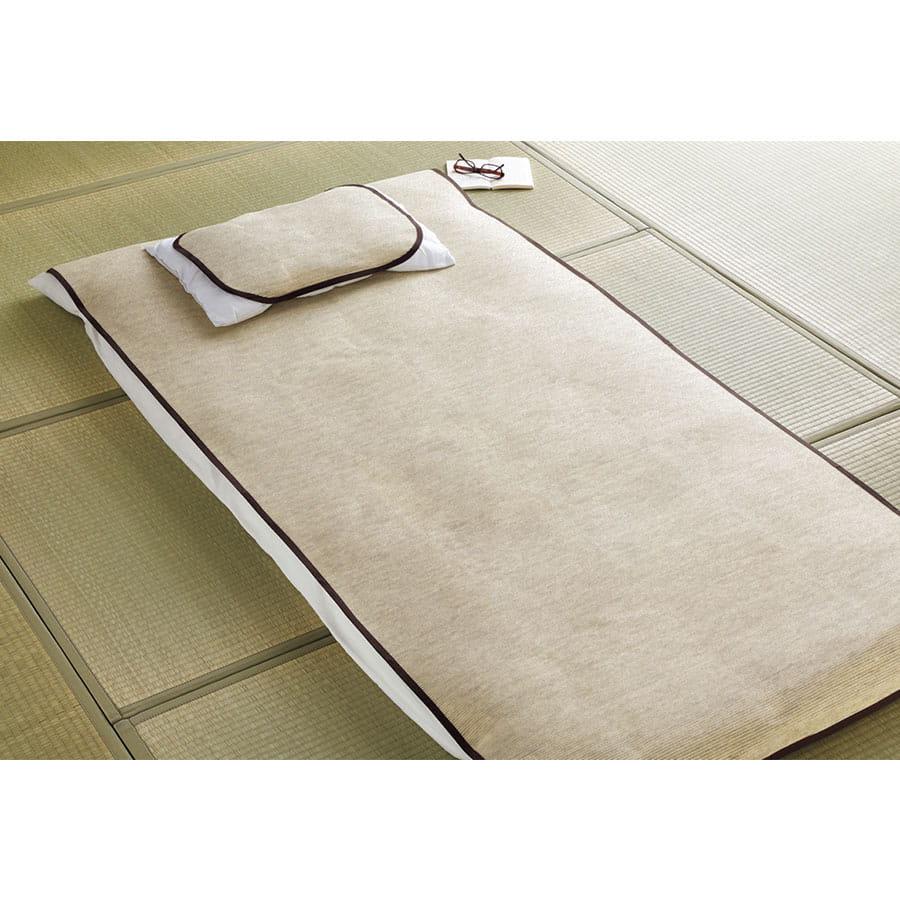和紙の敷パッドと枕カバーセット