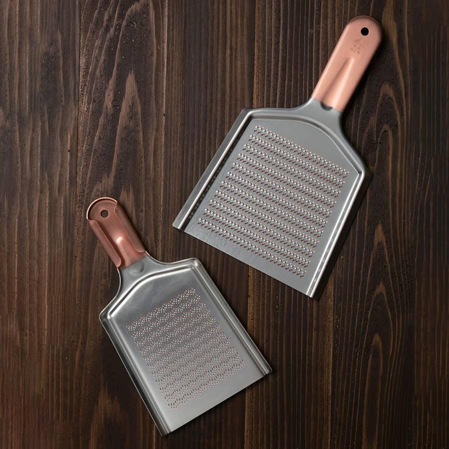 両面使える銅製おろし金