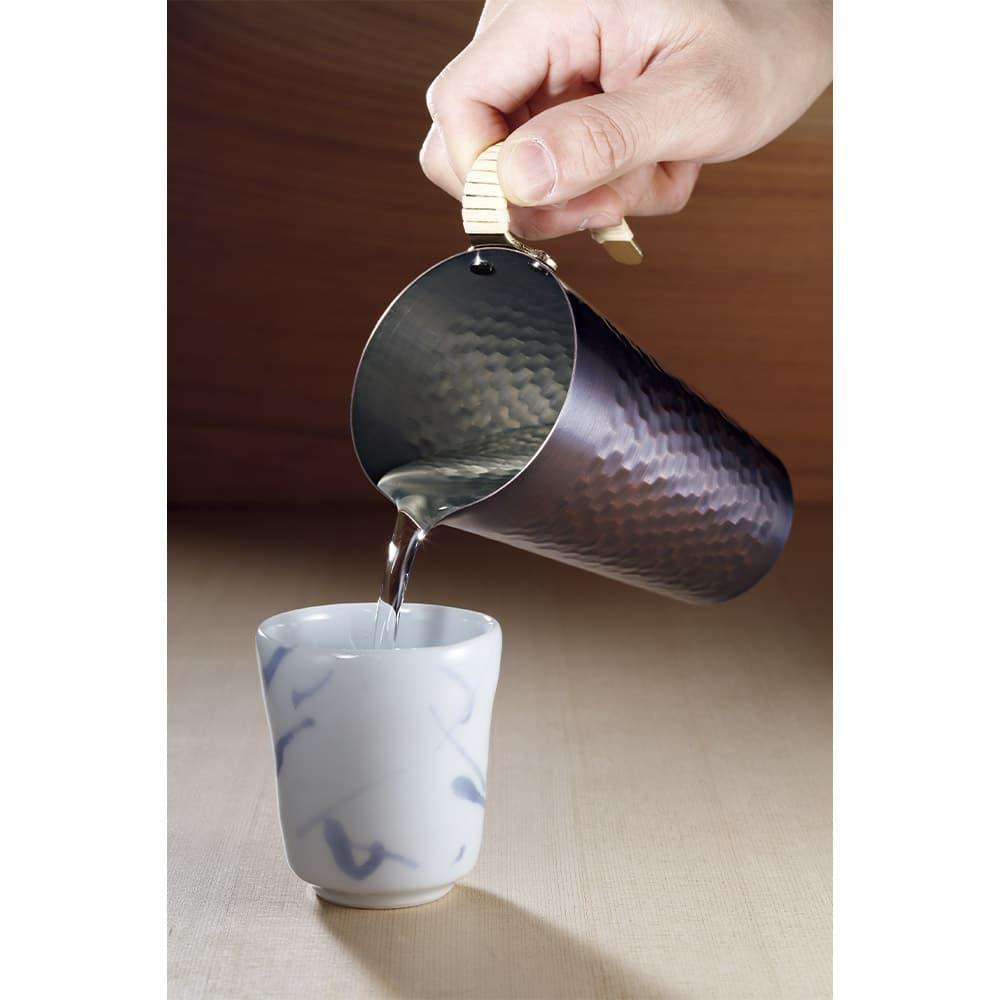 銅製酒タンポ
