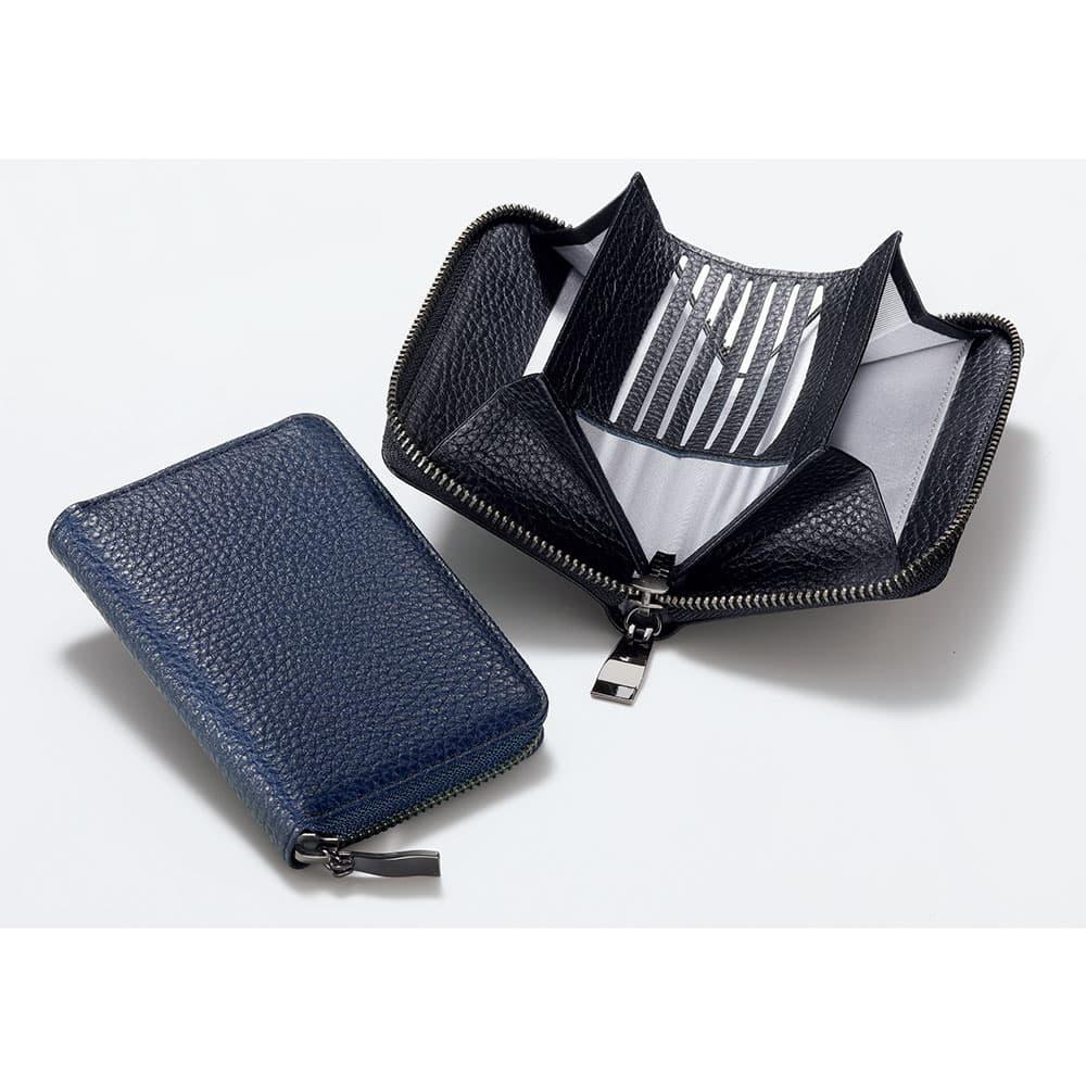 カードが見やすい手のひら財布