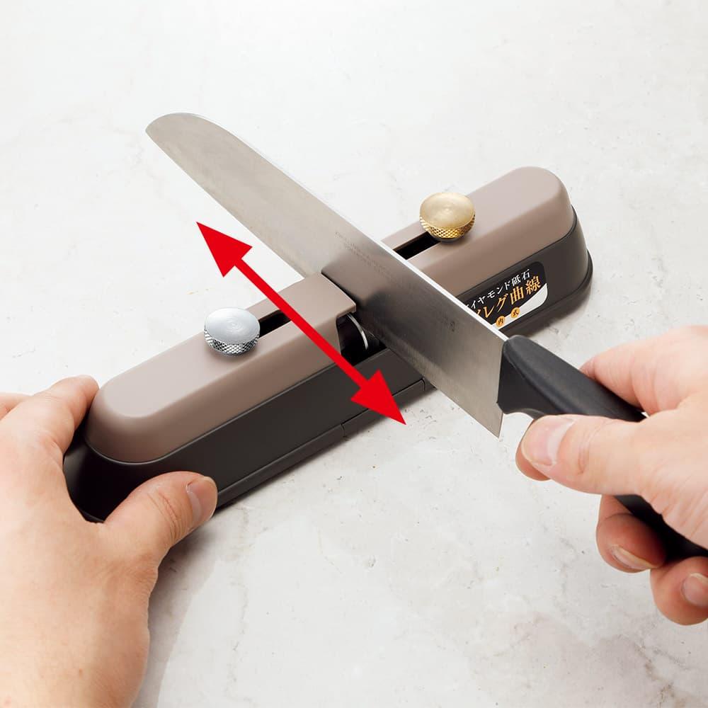 竹内式ハイレグ包丁研ぎ器