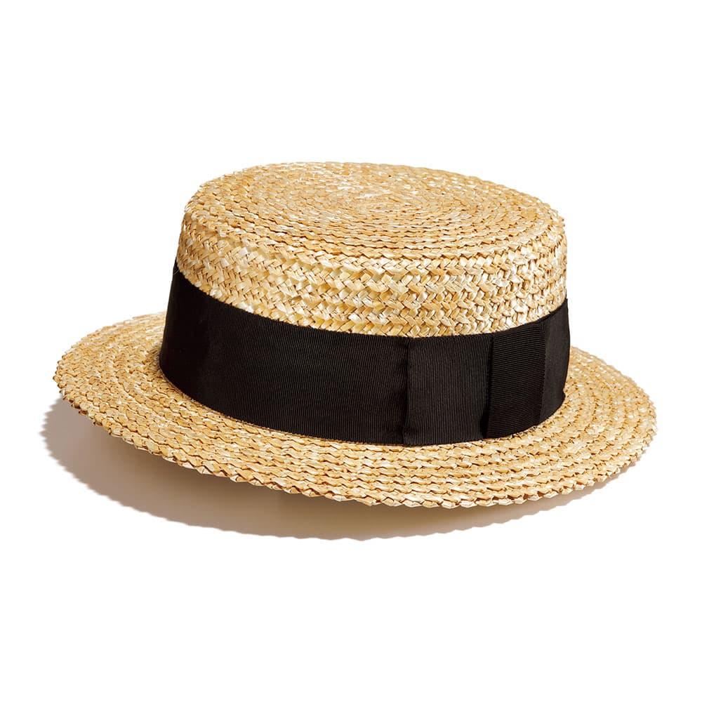 麦わらカンカン帽