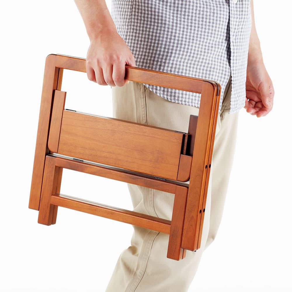 WoodPro かばん置き