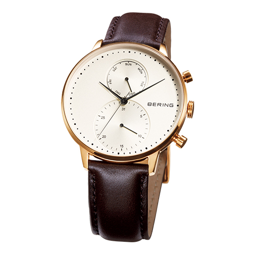 デイ・デート腕時計 スノーマン