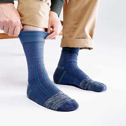 締め付けないあったか靴下3足セット