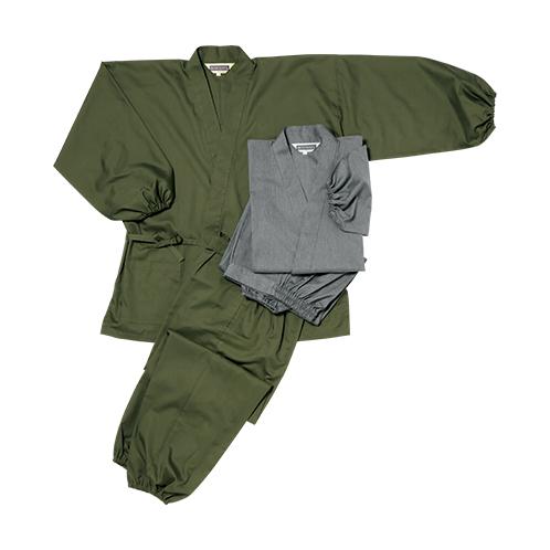 袖裾ゴム式作務衣