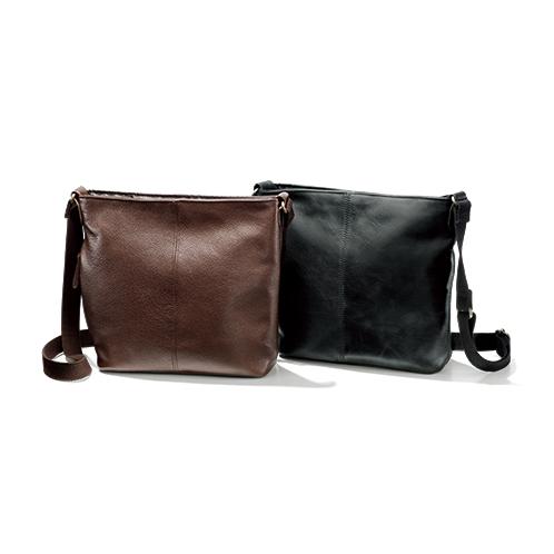 熟練の鞄職人が作った牛革ショルダーバッグ
