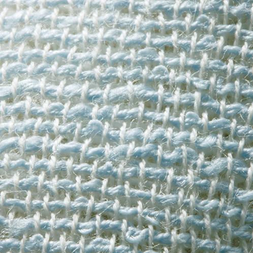 綿麻三重織ケット