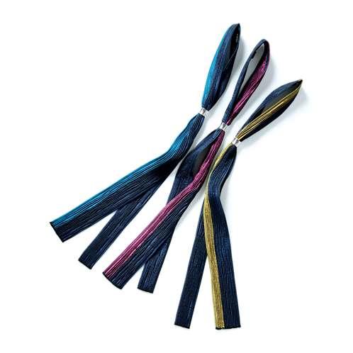 西陣織の2色リンクルカラー