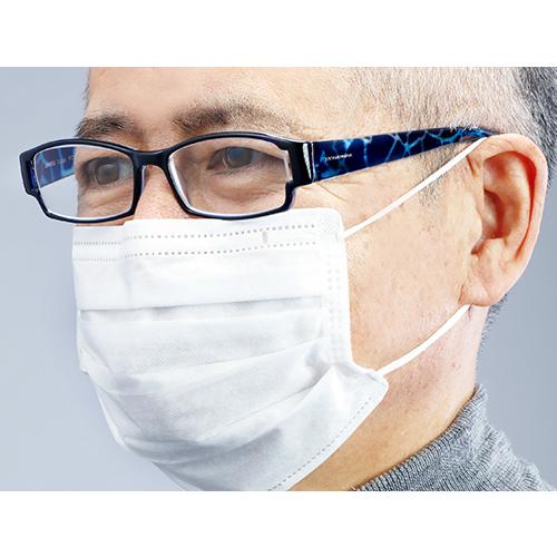 マスクをかけてもくもりにくいリーディンググラス