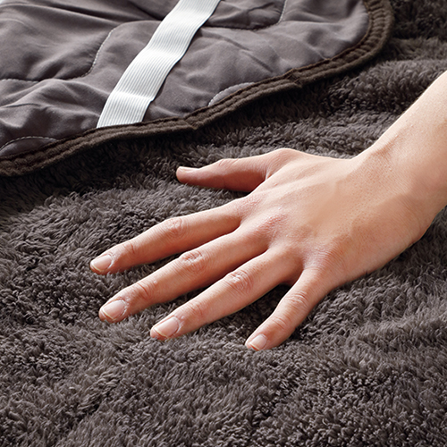 天然鉱石配合繊維のぽかぽか寝具
