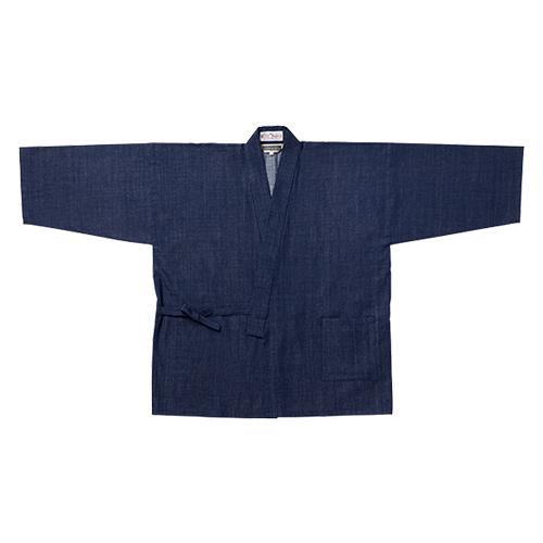 カイハラデニム・ピマ綿作務衣