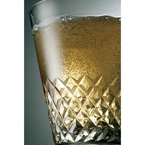 江戸切子の10オンスオールドグラス 古代色