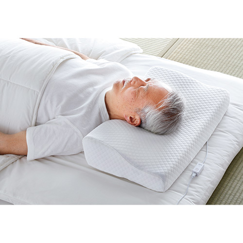いびきセンサー付き低反発枕