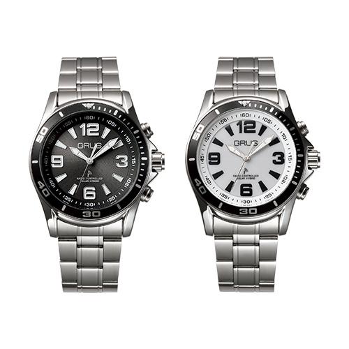 ボイス電波ソーラー腕時計