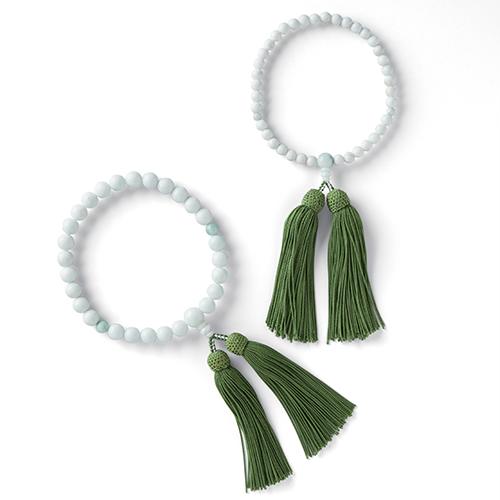 糸魚川産翡翠の念珠