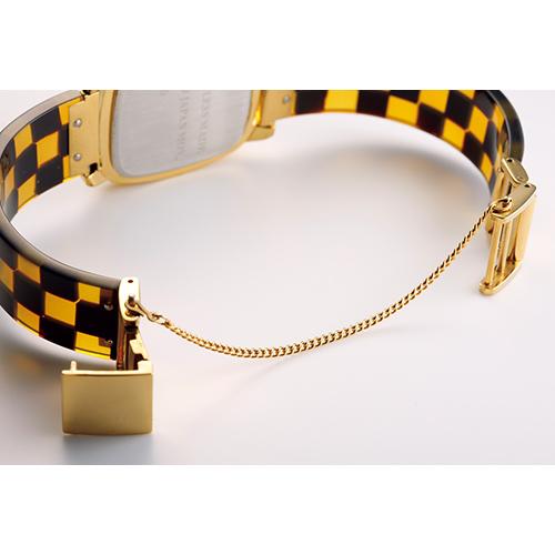 紳士用・鼈甲の腕時計