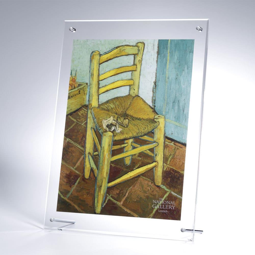 複製画「ファン・ゴッホの椅子」/アクリル