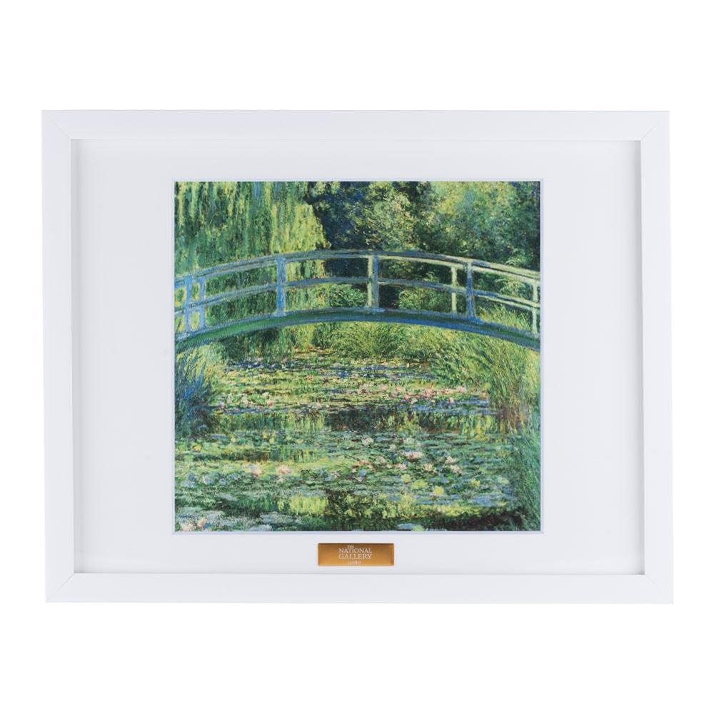 複製画「睡蓮の池」/額装