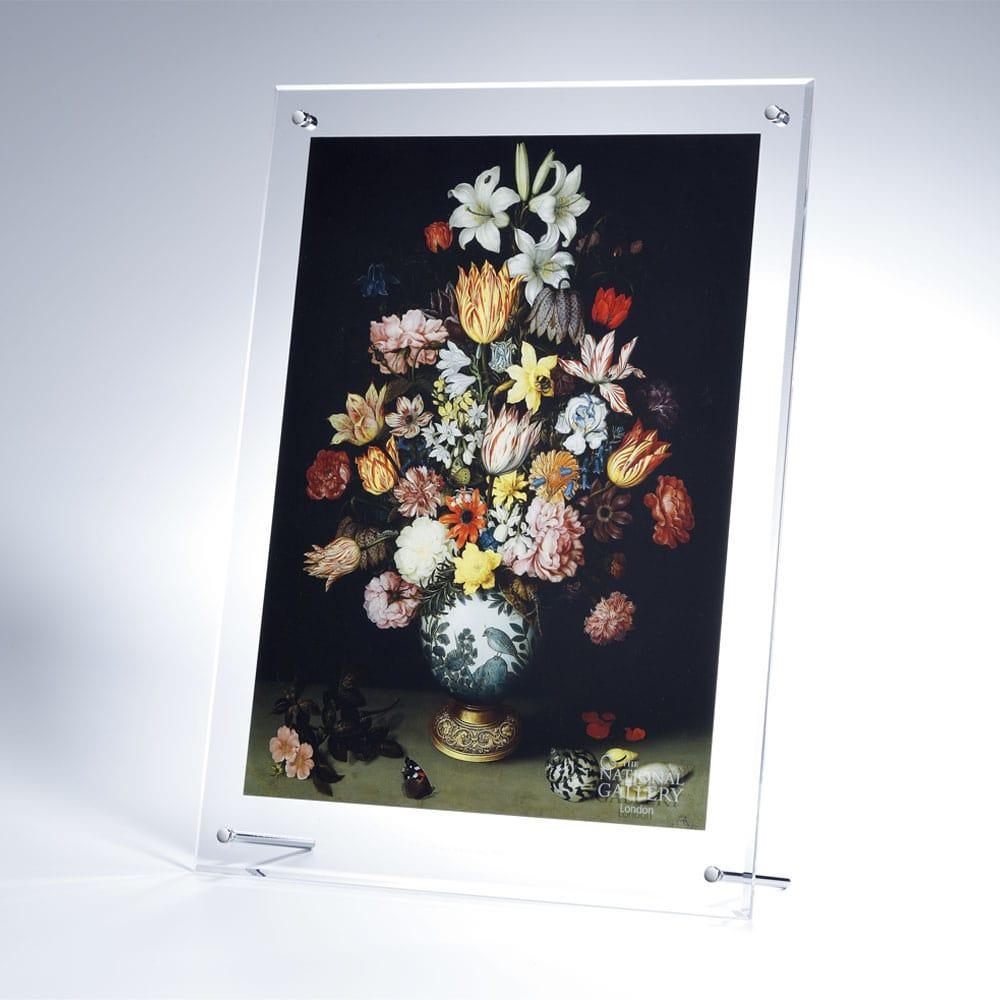 複製画「ワン・リー花瓶と花の静物」/アクリル