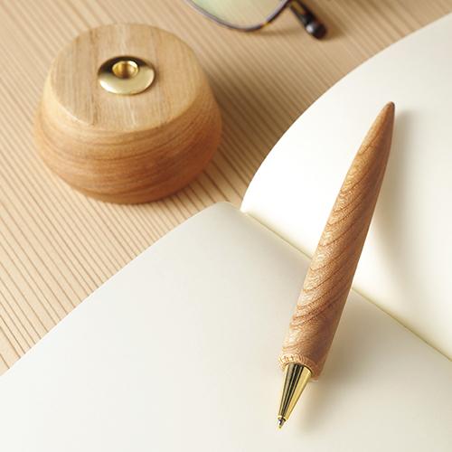 長野の木工房のデスクペン