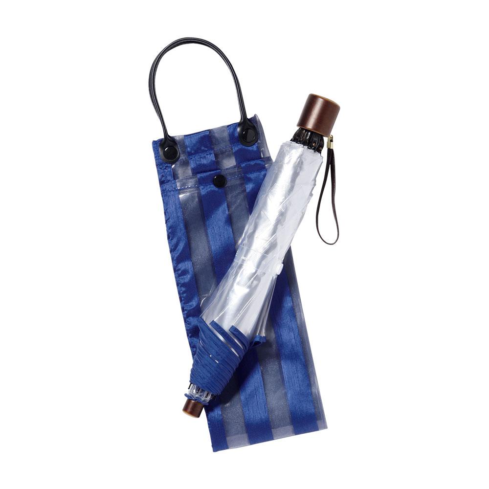 高級折り畳みビニール傘「アメマチ58」