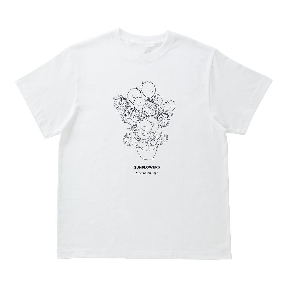 ロンドン ナショナル・ギャラリー グラフィックTシャツ「ひまわり」