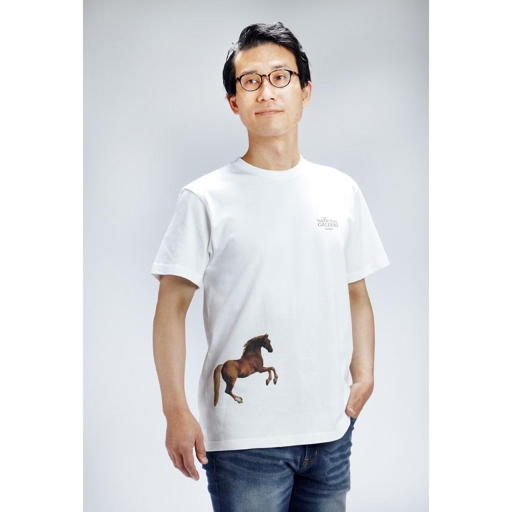 ロンドン ナショナル・ギャラリー グラフィックTシャツ「ホイッスルジャケット」
