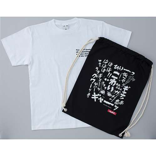 X-girl×KAZUO UMEZZ 「おろち」 TEE KNAPSACK SET