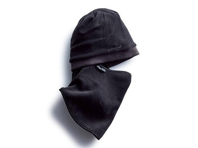 ニット帽、ネックウォーマーにもなる3Wayバラクラバ