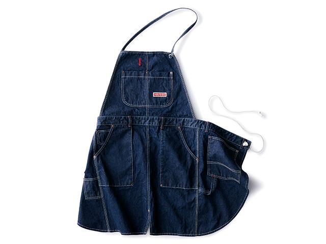 国産デニムの聖地 倉敷市児島で作られたジーンズみたいな2Wayエプロン