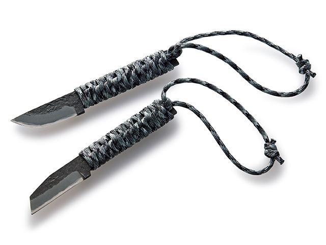 土佐のトヨクニとのコラボレーション パラコード巻きの万能小刀です