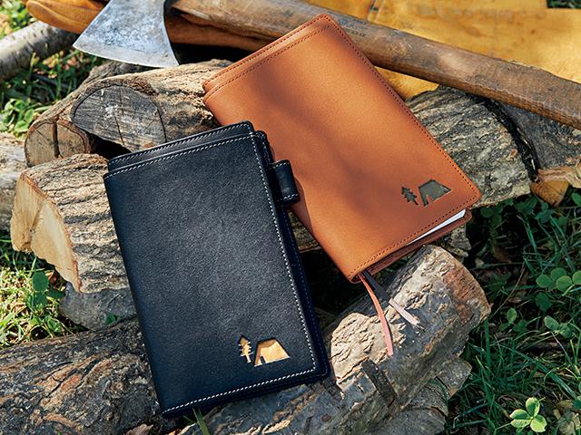ビーパル旅人手帳に完全対応!ポケット充実で機能的な本革ダイアリーカバー