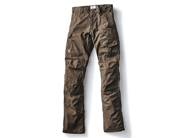 耐久性、撥水性の高いG-1000素材!ポケットも充実したキャンパー向けパンツ