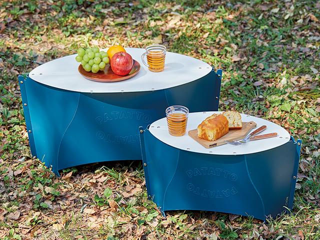 薄く畳んでカバンみたいに運べる!ピクニックで使いたいコンパクトテーブル