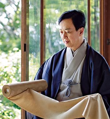 """坂東玉三郎さんが大好きな丹後ちりめんで""""とっておき""""をプロデュース!"""